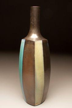 David Crane at Santa Fe Clay David Crane, Brown Bottles, Pottery Vase, Santa Fe, Color Palettes, Vases, Pots, Jar, Ceramics