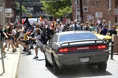 Federal hate crime charges have been filed against a man accused of plowing a car into a crowd of people protesting a white nationalist rally in Charlottesville, Virginia, killing a woman and injuring dozens more. Virginia, Prison, Donald Trump, Believe, Rally, Videos, Crowd, At Least, Shit Happens