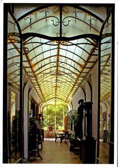 House M. Frison (Lebeaustraat 37) by Victor Horta, Brussels, Belgium