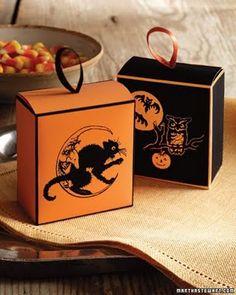 #Halloween #treat boxes