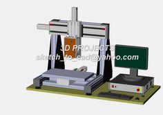 CNC  Ver 2 (x600y350z250) 2