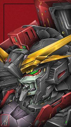 Gundam Head, Gundam Wing, Arte Gundam, Gundam Art, Gundam Iron Blooded Orphans, Gundam Wallpapers, Gundam Mobile Suit, Custom Gundam, Anime Fantasy