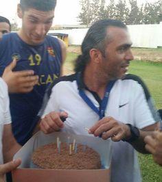 Oyuncumuz Hassan Nalbant'ın doğum günü 17 Ağustos'ta yapılan idman sonrası kutlandı!