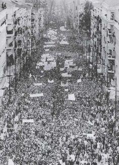 1º de Maio de 1974 em Lisboa.