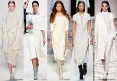 Creme -  Colour Forecast Fall/Winter 2014/2015 - Runway Women's Fashion Photo: Trend Council DORLY DESIGNS: Our Top Runway Fashion Colours F/W 2014/2015 Part IV