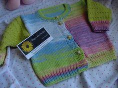 Magia do Crochet: Tricot para recém nascido, receita base de casaquinho