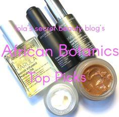 Lola's Fave Five feat. African Botanics http://blushingnoir.com/beauty/lolas-fave-five-feat-african-botanics #MakeupCafe