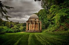 Temple of Apollo Stourhead Wiltshire Uk