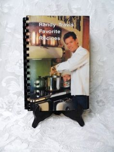 RANDY TRAVIS' Favorite Recipes- Cookbook- 1st Edition-1989 First Printing- Country Cooking- Randy Travis-Nashville-Entertainment Memorabilia by OrphanedTreasure on Etsy