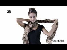 36 maneras de ponerse un pañuelo - YouTube