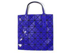 df6d785d7019 BAO BAO ISSEY MIYAKE Tote bag BILBAO LUCENT-1 BB41AG302 Deep Blue JAPAN