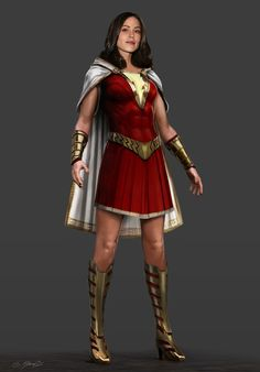 It was a real challenge bringing this character to life and we had an incredible team! Captain Marvel Shazam, Mary Marvel, Marvel Dc Comics, Mundo Superman, Shazam Movie, Superhero Party, Batman Party, Superhero Characters, Female Hero