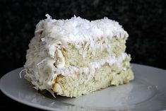 The best coconut cake in the world  I must have the recipe then!