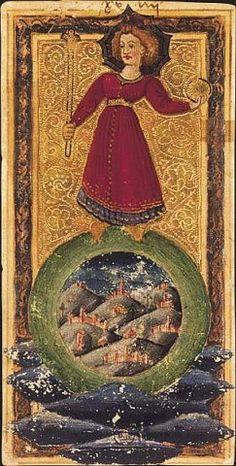 The World tarot card (tarot of Charles VI) Ex Libris, The World Tarot Card, Divine Tarot, Renaissance, Le Tarot, Art Carte, Tarot Major Arcana, Tarot Card Decks, Spiritus