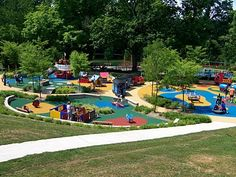 Smith Playground - Our facilities director went this past weekend and said it was AMAZING! Totally taking the kids some day! -MB
