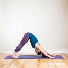 The One Yoga Stretch to Do Before Running (GIF) #SelfMagazine
