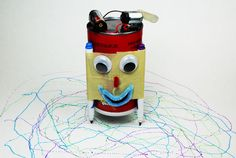 In this tutorial, you will learn how to make an Art Bot which is also known as a Scribblebot or Scribble Machine. These contraptions use a vibrating or offset