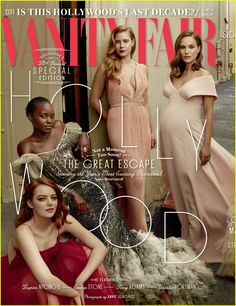 'Vanity Fair' Hollywood Issue Brings Together 11 A-List Actresses!