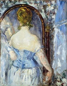 Before the Mirror, 1876, Edouard Manet