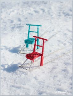 Miniture Things, Miniature Dolls, Sled, Doll Houses, Sports, Christmas, Home Decor, Outdoor, Universe