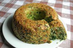 Receta: Budín de espinaca y quinoa - Che Vegano