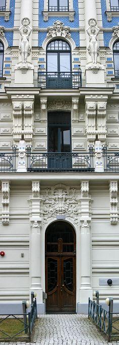 https://flic.kr/p/9Lirdw | Art Nouvea details, Riga