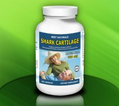 Best Naturals Shark Cartilage, 750 Mg, 300 Capsules