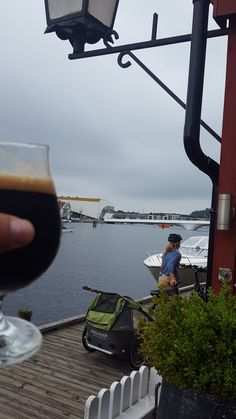Porter. Made at own brewery at Provianten. Mandal.