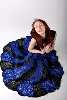Gorgeous Crochet Prom Dress Pattern.
