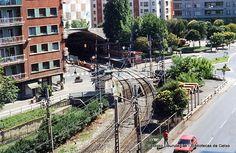 Areetako antzinako geltokia / Antigua estación del ferrocarril de Las Arenas, 1980 (ref. 04699)
