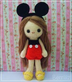 Mickey Ruby!! - CROCHET