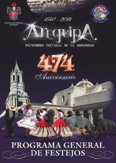 474º aniversario de Arequipa