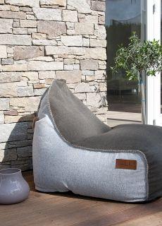SACKit har designet denne fantasktisk dejlige sækkestol i vintage look. Komforten er i top og med den unikke opbygning holder sækkestolen sin form - også når den ikke er i brug.