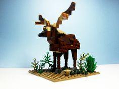 LEGO MOC - 16x16: Animals - Олень