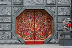 authentic Chinese door