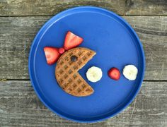 Waffles for kids are a simple way to get breakfast into your kids without having to overthink or spend all morning slaving over a stove. These fun kids waffles are the perfect mix of fun breakfast for kids and simple breakfast for mom. Food Art For Kids, Fun Snacks For Kids, Kids Fun, Cute Food, Good Food, Yummy Food, Breakfast For Kids, Best Breakfast, Breakfast Waffles