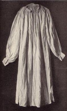 Shirt made in 1st half of 16th century, Walcher, Werke der Volkunst I, 1923