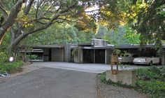 Maynard and Katharine Buehler House, Frank Lloyd Wright, Orinda CA