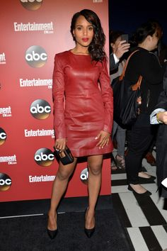 Kerry Washington in Marc by Marc Jacobs FW13 at the ABC 2013 New York Upfront Party