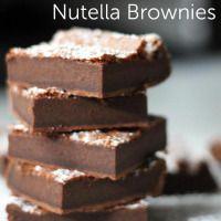 Cooking Shortcuts: Two-Ingredient Nutella Brownies!