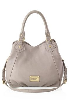 "Digging this Marc Jacob's bag, ""Classic Q Fran"" in ""cement"""