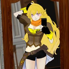 yang xiao long costume - Google Search