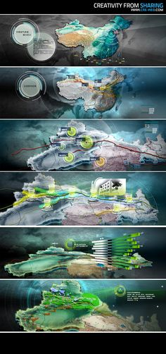 Presentation for West Pipeline of CNPC on Behance