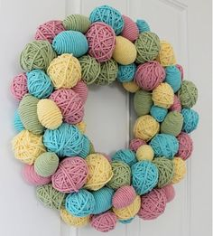 spring wreath ideas to make | Every holiday I swear I am going to make a matching wreath... it never ...