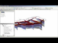 Crear un Perfil 2D y construir Modelo 3D del Subsuelo en ArcGIS.