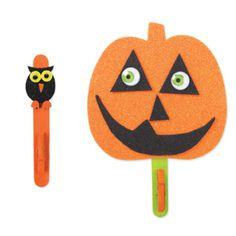 Kids Foam Pumpkin Display Magnet, large