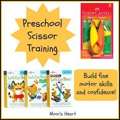 Mom's Heart: Preschool Scissors Training