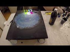 Acrylic Pouring 48 - YouTube