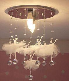 Lovely ballerina lamp