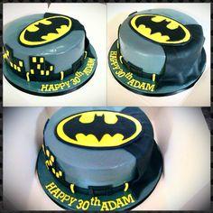 Birthday Cakes - Simple batman cake